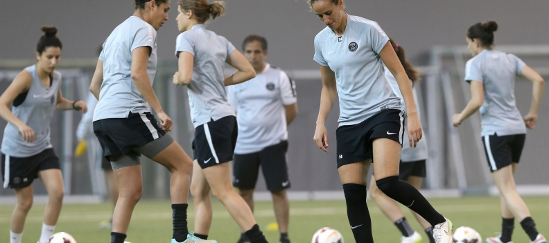 PSG Women Football Team concluded their training at Aspire Zone Their First Ever Qatar Ladies Tour