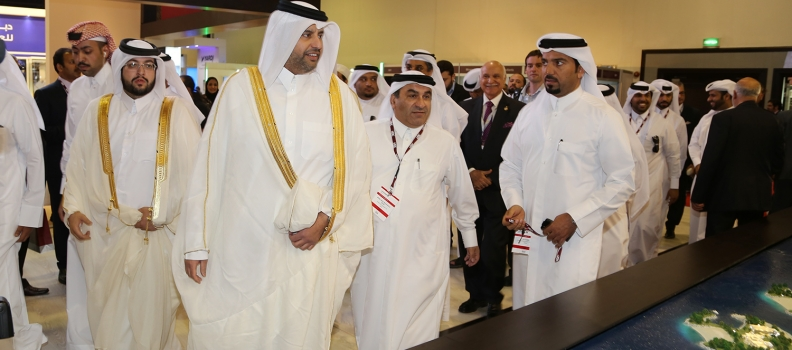 The Minister of Economy and Commerce Inaugurated Cityscape Qatar 2015