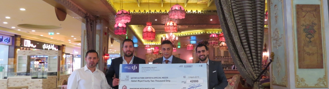 Shakespeare and Co. Renew Their Commitment to Supporting the Qatar Autism Centre and Donate 42,000 QR